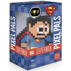 Фигурка DC Comics - Pixel Pals - Superman (Lights) (15 см)