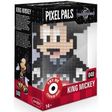 Фигурка Kingdom Hearts III - Pixel Pals - King Mickey (Lights) (15 см)