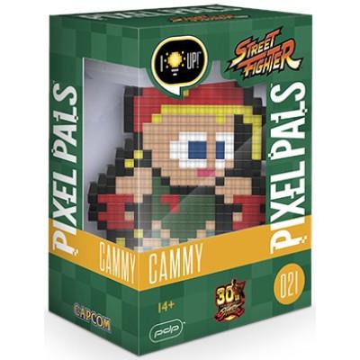 Фигурка PDP Street Fighter - Pixel Pals - Cammy (Lights) 878-033-NA-CAMMY (15 см)