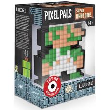 Фигурка Super Mario Bros - Pixel Pals - 8-Bit Luigi (Lights) (15 см)
