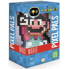 Фигурка Super Mario World - Pixel Pals - Mario (Lights) (15 см)