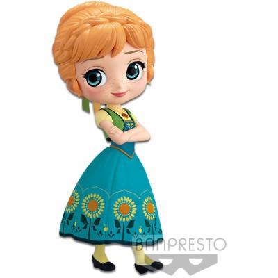 Фигурка Banpresto Frozen - Q posket Disney Characters - Anna Surprise Coordinate (Ver.A) 85654P (14 см)