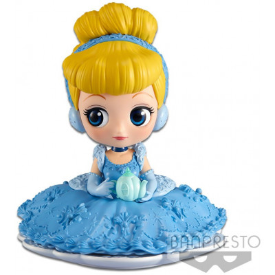 Фигурка Banpresto Cinderella - Q Posket Sugirly Disney Characters - Cinderella (A Normal color) BP35634P (9 см)