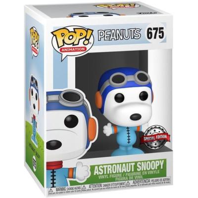 Фигурка Funko Peanuts - POP! Animation - Astronaut Snoopy (No Helmet) (Exc) 44616 (9.5 см)
