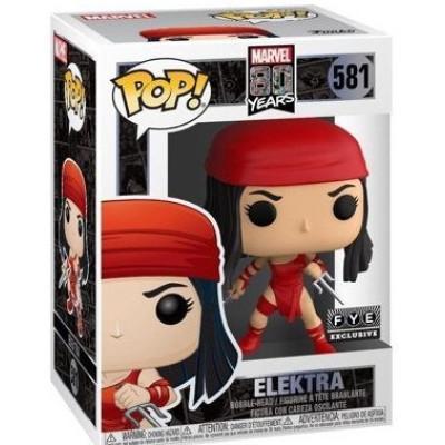 Фигурка Funko Головотряс Marvel 80 Years - POP! - Elektra (Exc) 44812 (9.5 см)