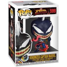 Головотряс Spider-Man: Maximum Venom - POP! - Venomized Captain Marvel (9.5 см)