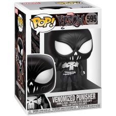 Головотряс Spider-Man: Maximum Venom - POP! - Venomized Punisher (9.5 см)
