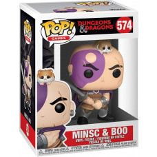 Фигурка Dungeons & Dragons - POP! Games - Minsc & Boo (9.5 см)