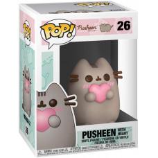 Фигурка Pusheen - POP! - Pusheen with Heart (9.5 см)