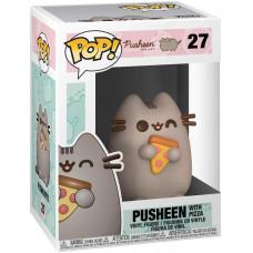Фигурка Pusheen - POP! - Pusheen with Pizza (9.5 см)