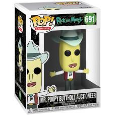 Фигурка Rick & Morty - POP! Animation - Mr Poopy Butthole Auctioneer (9.5 см)