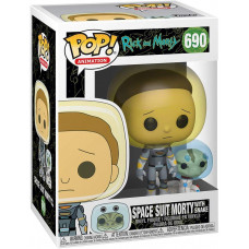 Фигурка Rick & Morty - POP! Animation - Space Suit Morty with Snake (9.5 см)