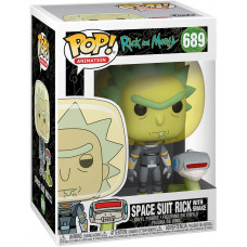 Фигурка Rick & Morty - POP! Animation - Space Suit Rick with Snake (9.5 см)
