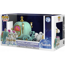 Фигурка Cinderella - POP! Rides - Cinderella's Carriage (9.5 см)