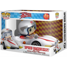Фигурка Speed Racer - POP! Rides - Speed Racer With The Mach 5 (13 см)