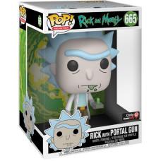 Фигурка Rick and Morty - POP! Animation - Rick with Portal Gun (25.5 см)