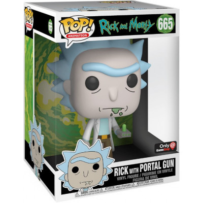 Фигурка Funko Rick and Morty - POP! Animation - Rick with Portal Gun 47379 (25.5 см)