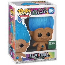 Фигурка Good Luck Trolls - POP! Trolls - Blue Troll (Exc) (9.5 см)