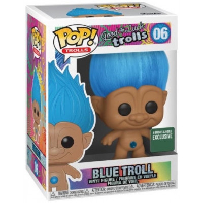 Фигурка Funko Good Luck Trolls - POP! Trolls - Blue Troll (Exc) 44609 (9.5 см)