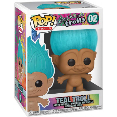 Фигурка Funko Good Luck Trolls - POP! Trolls - Teal Troll 44603 (9.5 см)