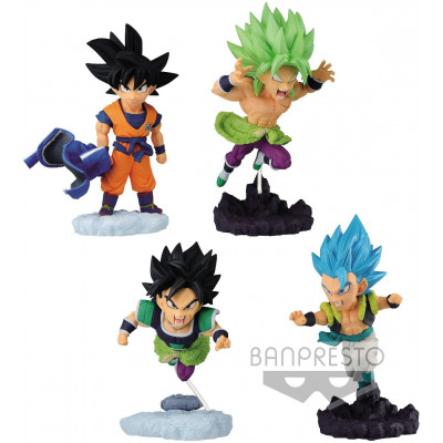 Фигурка Banpresto Dragon Ball Super - World Collectable Diorama vol.4 (1 шт, 5-7.5 см)