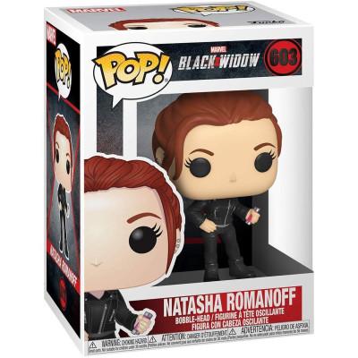 Фигурка Funko Головотряс Black Widow - POP! - Natasha Romanoff 46679 (9.5 см)