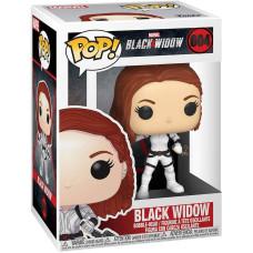 Головотряс Black Widow - POP! - Black Widow (White Suit) (9.5 см)