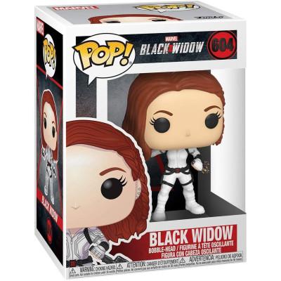 Фигурка Funko Головотряс Black Widow - POP! - Black Widow (White Suit) 46681 (9.5 см)