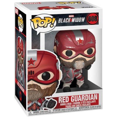 Фигурка Funko Головотряс Black Widow - POP! - Red Guardian 46686 (9.5 см)