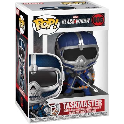 Фигурка Funko Головотряс Black Widow - POP! - Taskmaster (with Bow) 46685 (9.5 см)