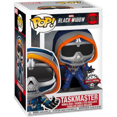 Фигурка Funko Головотряс Black Widow - POP! - Taskmaster (with Claws) (Exc) 46688 (9.5 см)