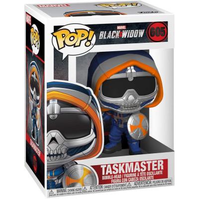 Фигурка Funko Головотряс Black Widow - POP! - Taskmaster (with Shield) 46684 (9.5 см)