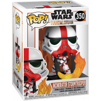 Головотряс Star Wars: The Mandalorian - POP! - Incinerator Stormtrooper (9.5 см)