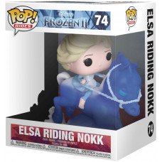 Фигурка Frozen 2 - POP! Rides - Elsa Riding Nokk (13 см)