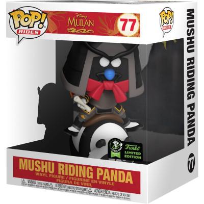 Фигурка Funko Mulan - POP! Rides - Mushu Riding Panda (Exc) 45935 (15 см)
