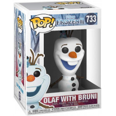 Фигурка Frozen 2 - POP! - Olaf with Bruni (9.5 см)