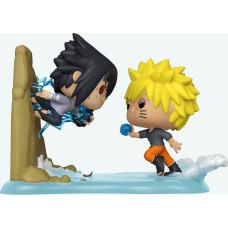 Набор фигурок Naruto: Shippuden - POP! Anime Moment - Sasuke vs Naruto (Exc) (9.5 см)