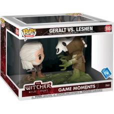 Набор фигурок Witcher 3: Wild Hunt - POP! Game Moment - Geralt vs Leshen (Exc) (9.5 см)