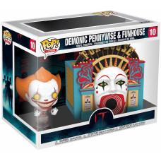 Набор фигурок IT: Chapter Two - POP! Town - Demonic Pennywise & Funhouse (9.5 см)