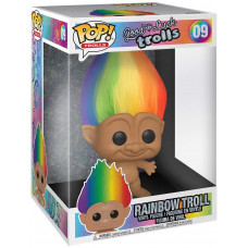 Фигурка Good Luck Trolls - POP! Trolls - Rainbow Troll (25.5 см)