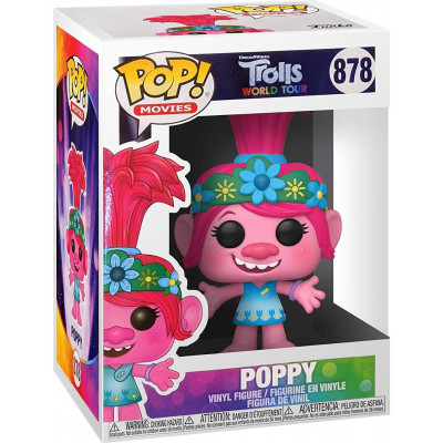 Фигурка Funko Trolls World Tour - POP! Movies - Poppy 47000 (9.5 см)