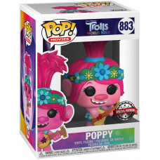Фигурка Trolls World Tour - POP! Movies - Poppy (with Guitar) (Exc) (9.5 см)