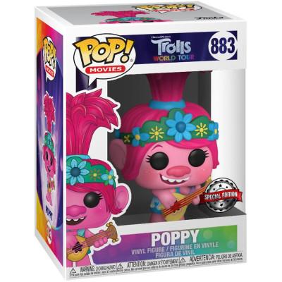 Фигурка Funko Trolls World Tour - POP! Movies - Poppy (with Guitar) (Exc) 47349 (9.5 см)