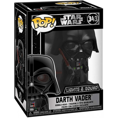 Фигурка Funko Головотряс Star Wars - POP! - Darth Vader (Lights & Sound) 35519 (9.5 см)