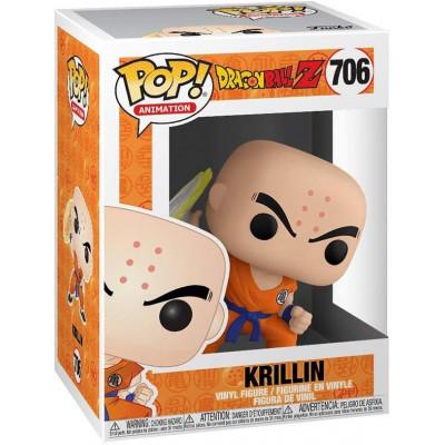 Фигурка Funko Dragon Ball Z - POP! Animation - Krillin (with Destructo Disc) 44263 (9.5 см)