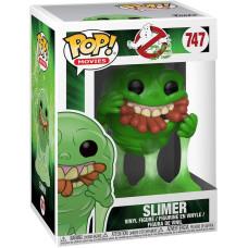 Фигурка Ghostbusters 35 Years - POP! Movies - Slimer (with Hot Dogs) (9.5 см)