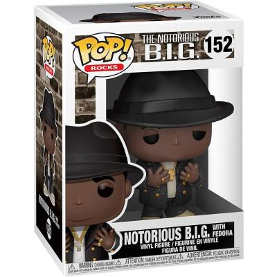 Фигурка Funko Notorious B.I.G - POP! Rocks - Notorious B.I.G with Fedora 45430 (9.5 см)