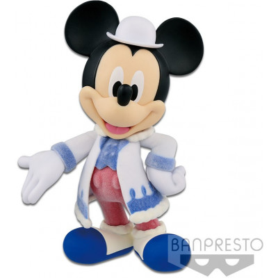 Фигурка Banpresto Mickey Mouse - Fluffy Puffy Disney Characters - Mickey BP19955P (10 см)