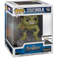 Головотряс Avengers - POP! Deluxe - Avengers Assemble: Hulk (Exc) (14 см)