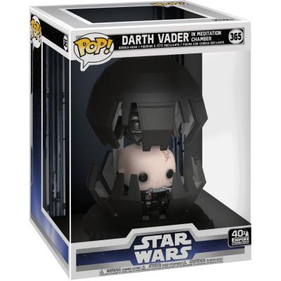 Фигурка Funko Головотряс Star Wars: 40th The Empire Strikes Back - POP! Deluxe - Darth Vader in Meditation Chamber 46763 (18 см)